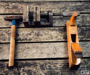 Puzzle Outils de menuiserie