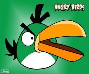 Puzzle Pájaro Vert (Green Bird