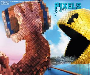 Puzzle Pac-Man et Donkey Kong