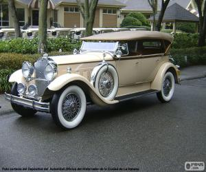 Puzzle Packard 740 S. Eight (1930)