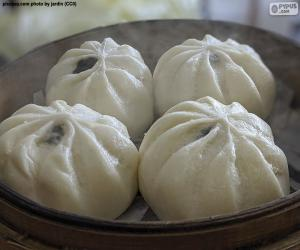 Puzzle Pains chinois cuits à la vapeur