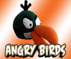 Puzzle Pájaro Vert (Green Bird), oiseau avec effet boomerang