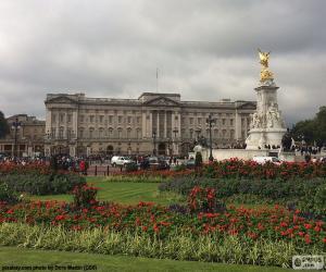 Puzzle Palais de Buckingham, Londres