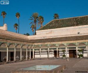 Puzzle Palais de la Bahia, Marrakech, Maroc