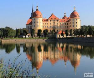 Puzzle Palais de Moritzburg, Allemagne