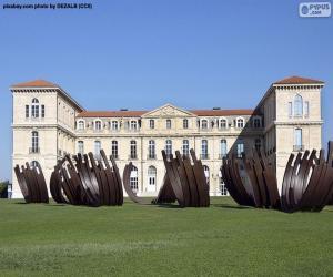 Puzzle Palais du Pharo, France