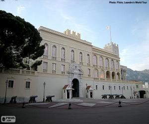 Puzzle Palais princier de Monaco