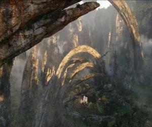 Puzzle Pandora, une planète de na'vi