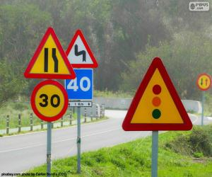 Puzzle Panneaux de signalisation