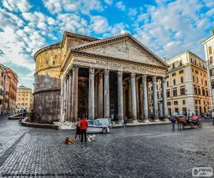 Puzzle Panthéon d'Agrippa, Rome