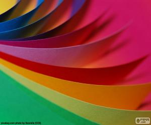 Puzzle Papier cartonné de couleurs