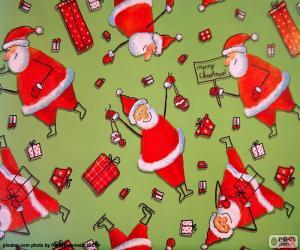 Puzzle Papier du Père Noël