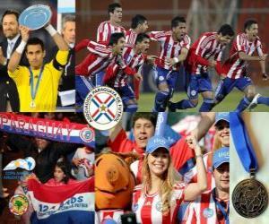 Puzzle Paraguay, 2 ème place Copa America 2011