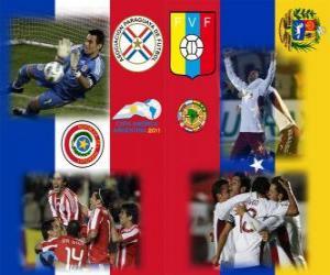 Puzzle Paraguay - Venezuela, demi-finale, Copa América Argentine 2011