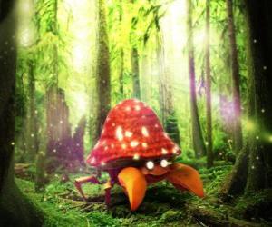 Puzzle Parasect - Pokémon type Plante Bestiole