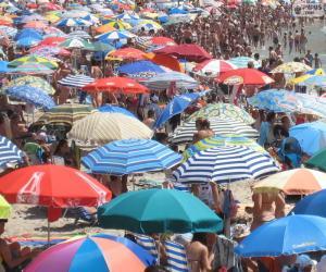 Puzzle Parasols de plage