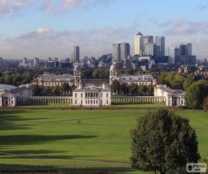 Puzzle Parc de Greenwich, Londres