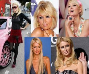 Puzzle Paris Hilton est un célèbre, auteur, modèle, actrice, designer et chanteur.