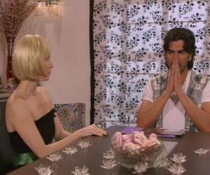 Puzzle Parler Blanca et Leandro