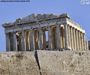 Puzzle Parthénon, Grèce