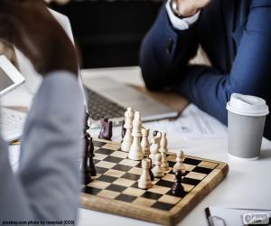 Puzzle Partie d'échecs