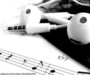 Puzzle Partitions et écouteurs