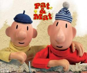 Puzzle Pat et Mat, les plus drôles bricoleurs