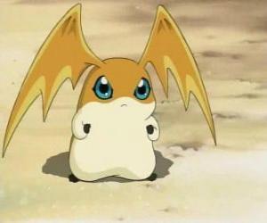 Puzzle Patamon est le partenaire Digimon des TK, est un des Digivolution Potomon et Tokomon
