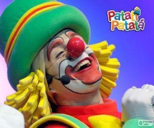 Puzzle Patatá, l'un des clowns de Patatí Patatá