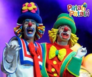 Puzzle Patati et Patatá