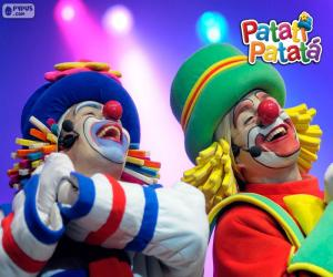 Puzzle Patati et Patata dans une performance