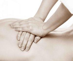Puzzle Patient recevant un massage thérapeutique par un physiothérapeute