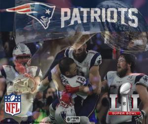 Puzzle Patriots, Super Bowl 2017