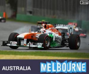 Puzzle Paul di Resta - Force India - Melbourne 2013