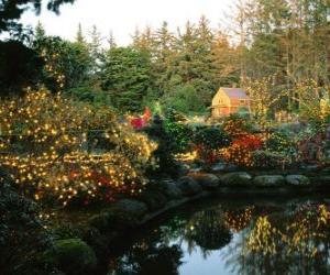 Nature Scenery: Puzzle Gratuit Paysage De Noel