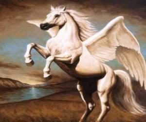 Puzzle Pégase - Le cheval ailé