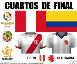 Puzzle PER - COL, Copa América 2016