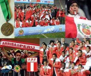 Puzzle Pérou, la Copa America 2011 3ème place
