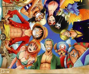 Puzzle Personnages de One Piece
