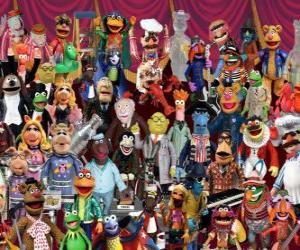 Puzzle Personnages des Les Muppets