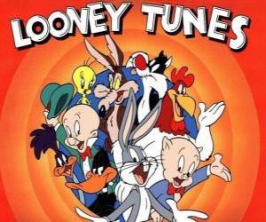 Puzzle personnages principaux des Looney Tunes