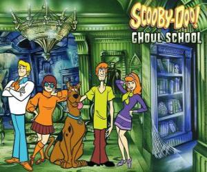 Puzzle personnages principaux de Scooby-Doo