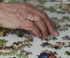 Puzzle Personne âgée, puzzle