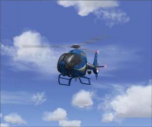 Puzzle Petit hélicoptère