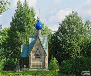 Puzzle Petite chapelle, Russie