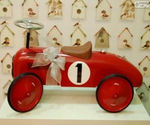 Puzzle Petite  voiture jouet pour Noël