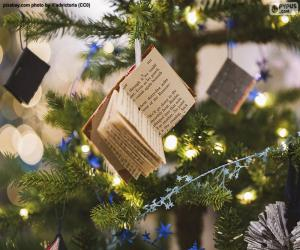 Puzzle Petits livres d'embellissement de Noël