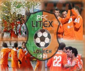 Puzzle PFC Litex Lovech, club de football bulgare