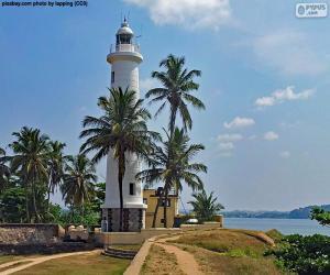 Puzzle Phare à Galle, Sri Lanka