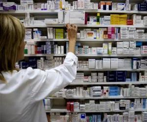 Puzzle Pharmaceutique de prendre un médicament